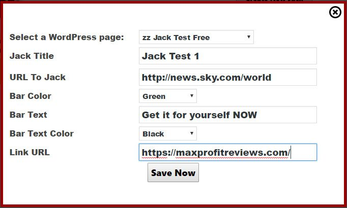 Jack Jacker Free WordPress Plugin | MaxProfitReviews