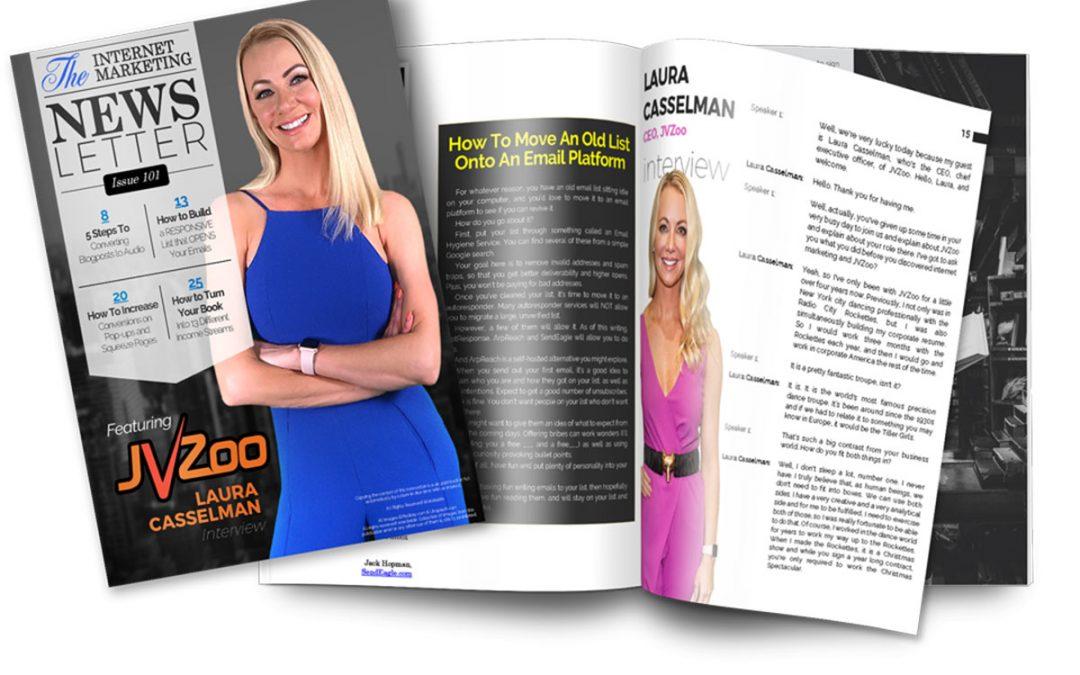 Internet Marketing Newsletter PLR by Nick James