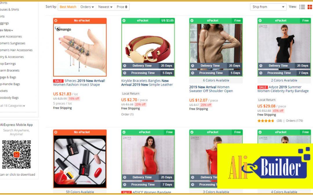 AliBuilder – AliExpress Dropshiping WordPress Plugin